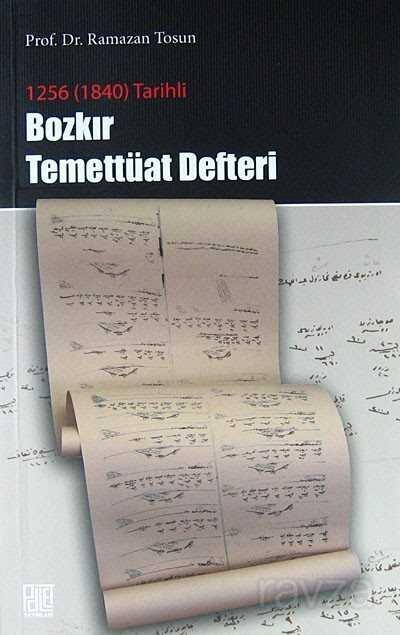 1256 (1840) Tarihli Bozkır Temettüat Defteri