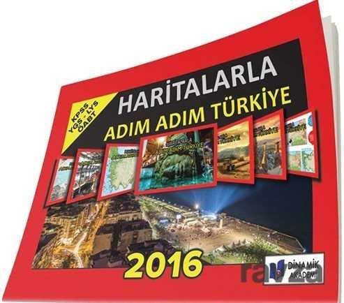 2016 Haritalarla Adım Adım Türkiye