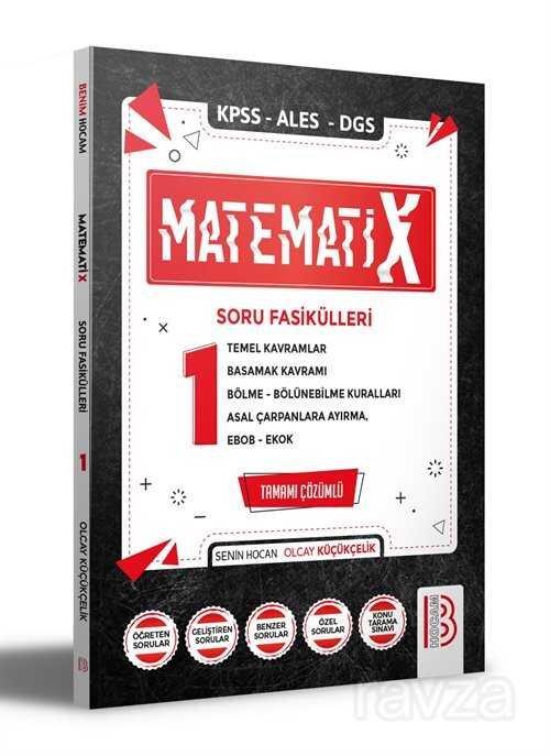 2021 KPSS ALES DGS MatematiX Soru Fasikülleri 1