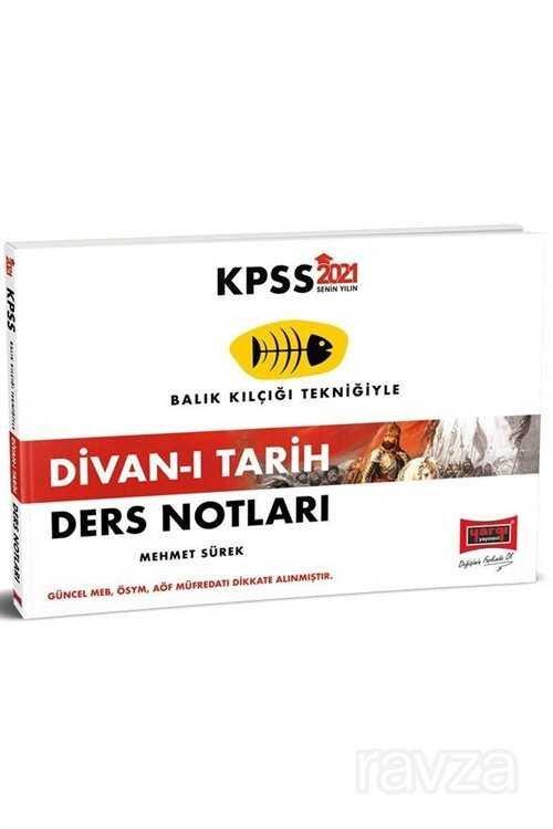 2021 KPSS Divan-ı Tarih Ders Notları