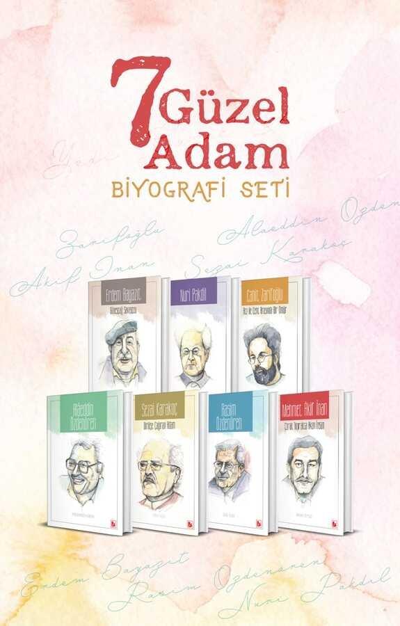 Yedi Güzel Adam Biyografi Seti (7 Kitap)