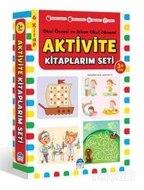 Aktivite Kitaplarım Seti 3+ Yaş Okul Öncesi Ve Erken Okul Dönemi