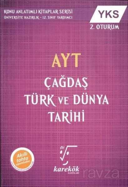 AYT Çağdaş Türk ve Dünya Tarihi Konu Anlatımlı