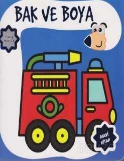 Bak ve Boya Türkçe-İngilizce Mavi Kitap