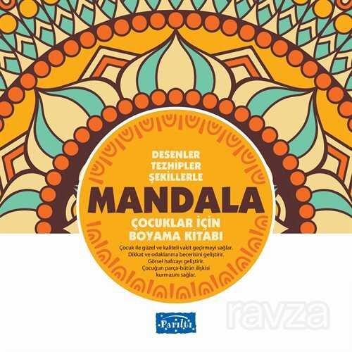 Büyükler İçin Mandala (Sarı Kitap)