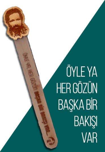 Cahit Zarifoğlu Tahta Ayraç