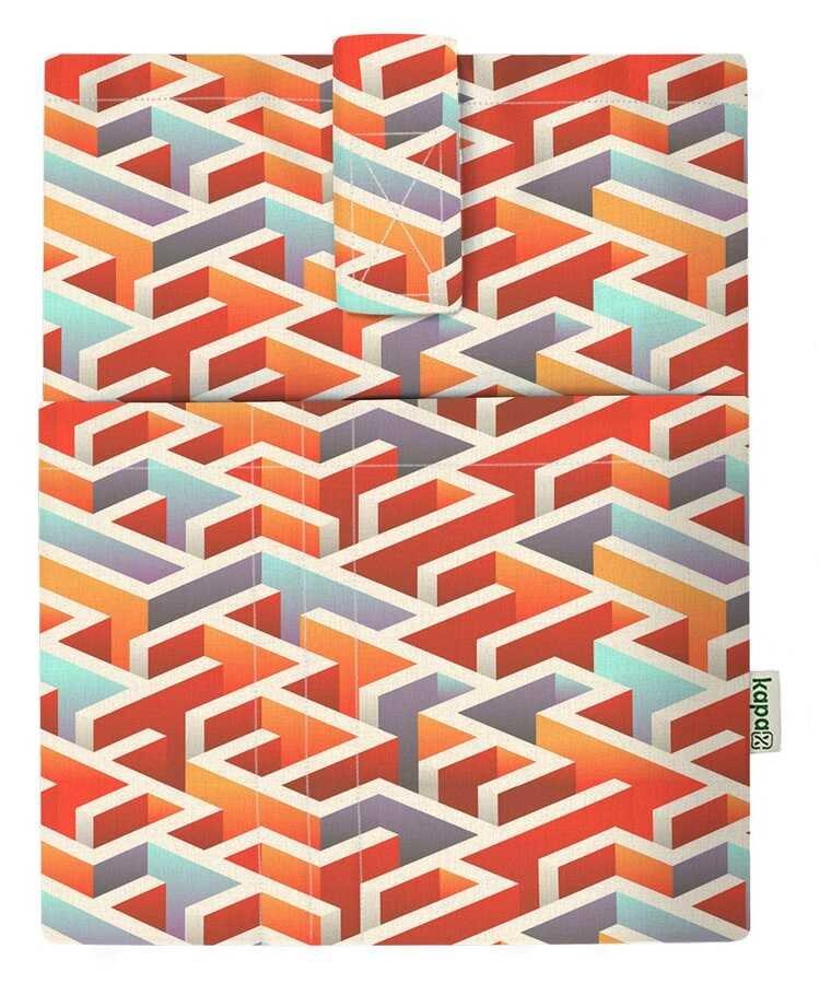 Cepli Kitap Kılıfı - Labirent 3D (20x25)