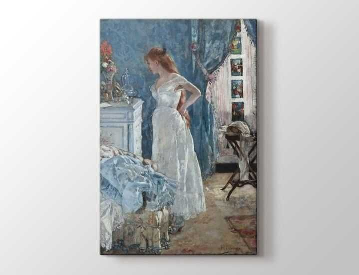 Henri Gervex - French la Toilette Tablo |50 X 70 cm|