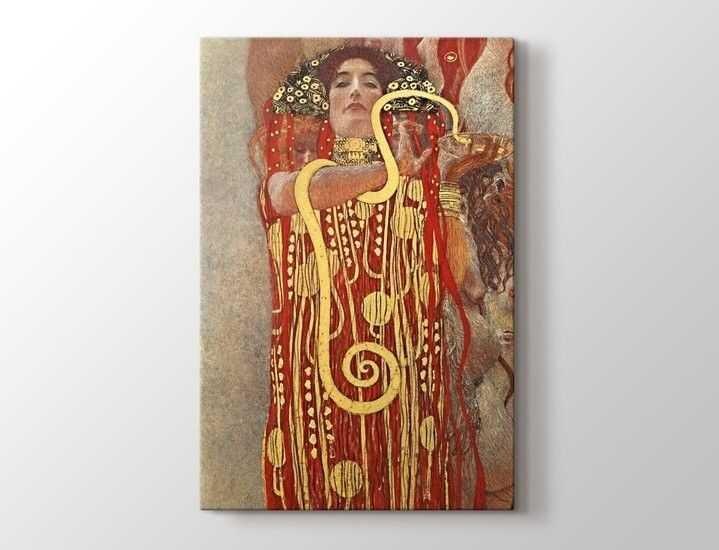 Gustav Klimt - Hygieia Tablo |60 X 80 cm|