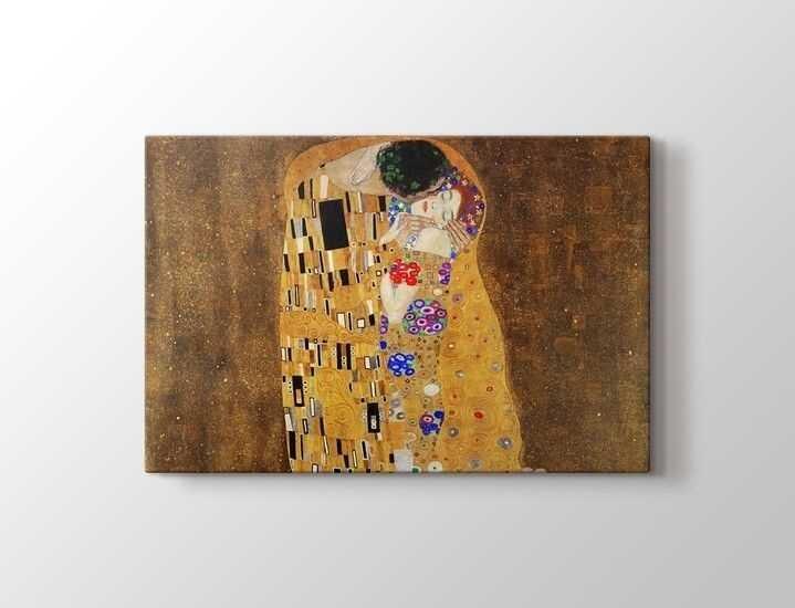 Gustav Klimt The Kiss Tablo |60 X 80 cm|
