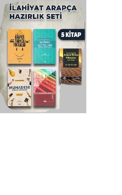 İlahiyat Arapça Hazırlık Seti (5 Kitap)