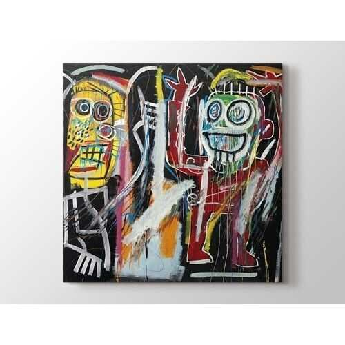 Jean-Michel Basquiat - Dustheads Tablo  50 X 70 cm 