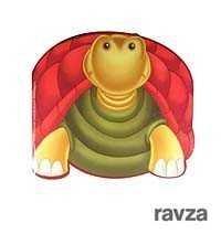 Kaplumbağa / Sevimli Hayvanlar Çıkartmalı Boyama