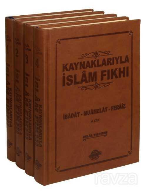 Kaynaklarıyla İslam Fıkhı (4 Cilt Takım, Termo Cilt)