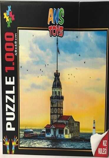 Kız Kulesi Puzzle (1000 Parça)