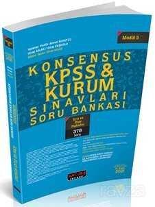 Konsensus KPSS İcra ve İflas Hukuku Soru Bankası