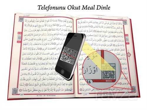 Kur'an-ı Kerim Bilgisayar Hatlı Cami Boy (Kur'an 001) Sesli Kur'an