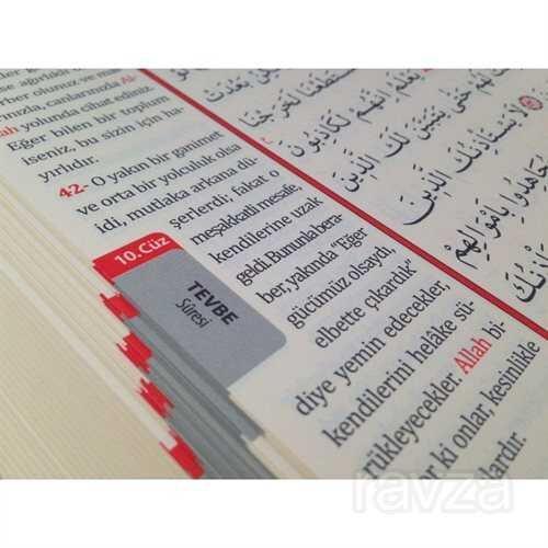 Kur'an-ı Kerim ve Yüce Meali Bilgisayar Hatlı (Rahle Boy Kutulu) (Meal 008)