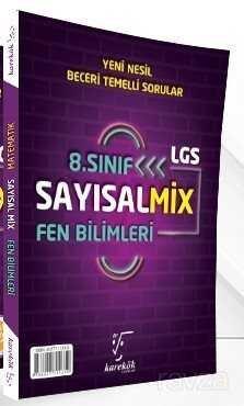 LGS 8.Sınıf Sayısal Mix Matematik ve Fen Bilimleri