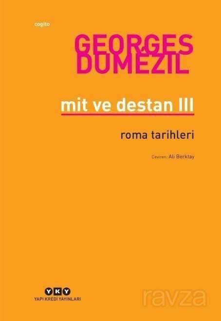 Mit ve Destan III Roma Tarihleri
