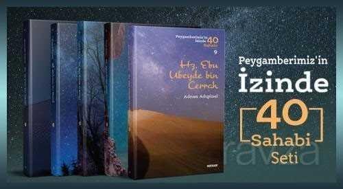 Peygamberimiz'in İzinde 40 Sahabi Seti (40 Kitap (Kutulu)