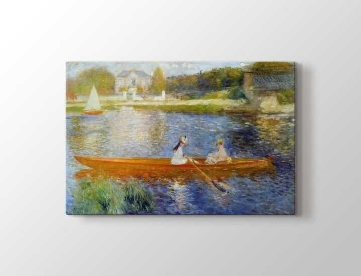 Pierre Auguste Renoir - La Yole Tablo |80 X 80 cm|