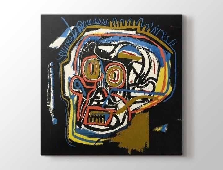 Jean-Michel Basquiat - Head Tablo  50 X 70 cm 