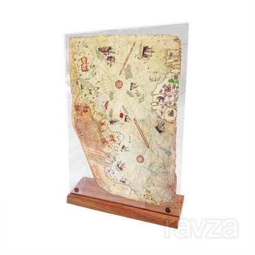 Piri Reis 1513 Dünya Haritası Replikası