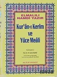 Rahle Boy Kur'an-ı Kerim ve Yüce Meali (Şamua-Ciltli) / Hafız Osman Hatlı Meal / 2 renk