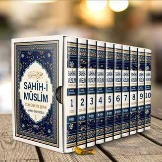 Sahîh-i Müslim Tercüme ve Şerhi (10 Cilt Takım Özel Kutusunda)