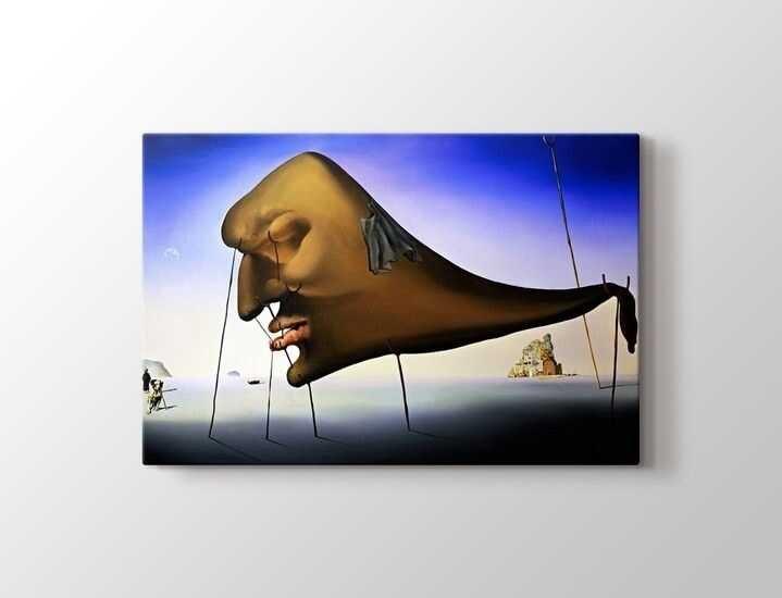 Salvador Dali - Le Sommeil Tablo |50 X 70 cm|