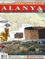 Touristmap Alanya Harita, Plan ve Rehberi
