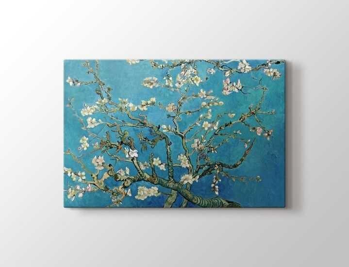 Vincent van Gogh Çiçek Açan Badem Ağacı Tablo |60 X 80 cm|