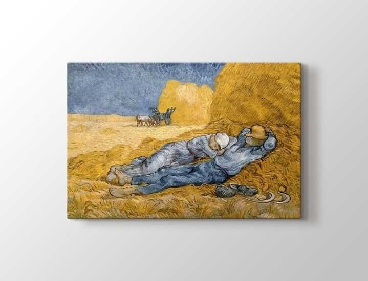 Vincent van Gogh - La Siesta Tablo |60 X 80 cm|
