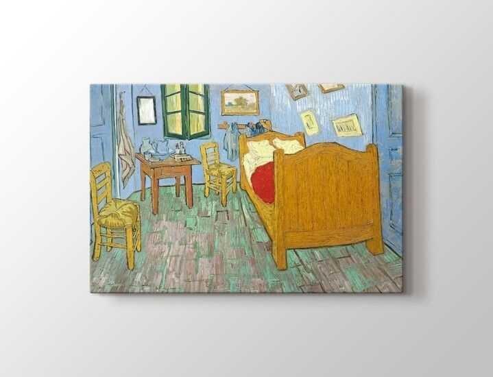 Vincent van Gogh - The Bedroom Tablo  50 X 70 cm 