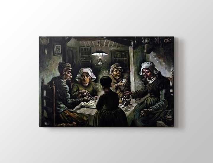 Vincent van Gogh - The Potato Eaters Tablo  50 X 70 cm 