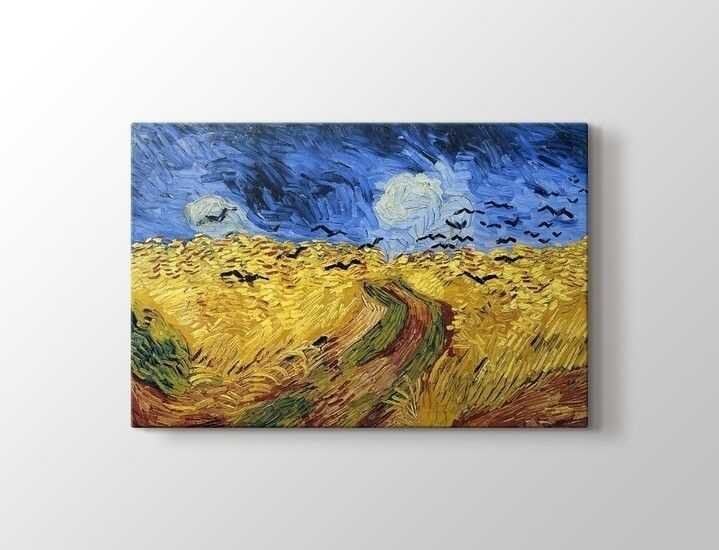 Vincent van Gogh - Wheatfield With Crows Tablo|60 X 80 cm|