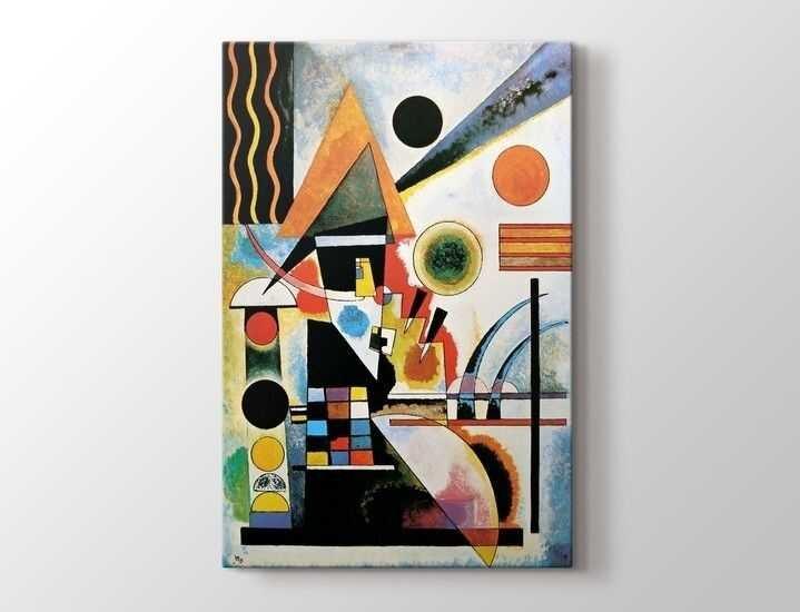 Wassily Kandinsky - Balancement Tablo |80 X 80 cm|