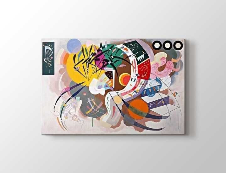 Wassily Kandinsky - Dominant Curve Tablo |60 X 80 cm|