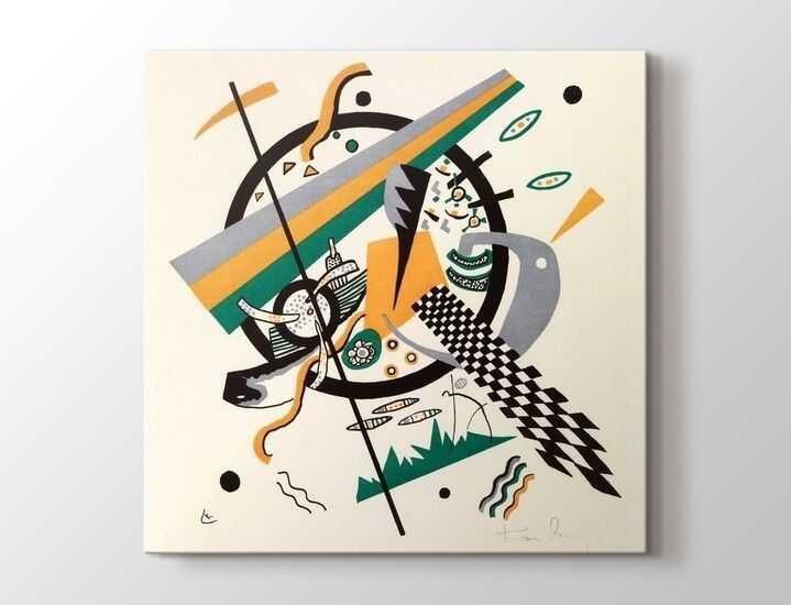 Wassily Kandinsky - Kleine Welten Tablo |60 X 80 cm|